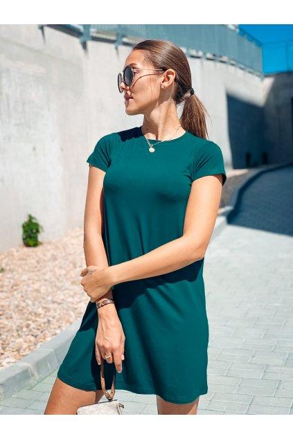 damske saty basic bamboo short sleeve green limited eshopat cz 1