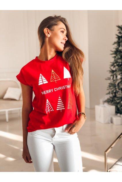 damske tricko christmas tree red eshopat cz 1