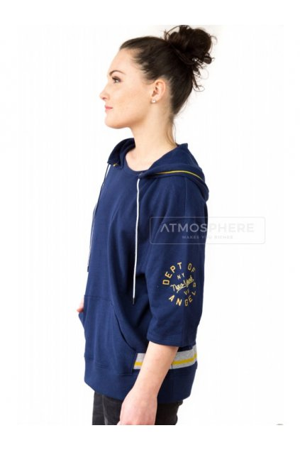 mikina victoria's secret three quarter sleeve hoodie navy eshopat cz 1