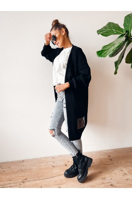 damsky cardigan dream black eshopat cz 1