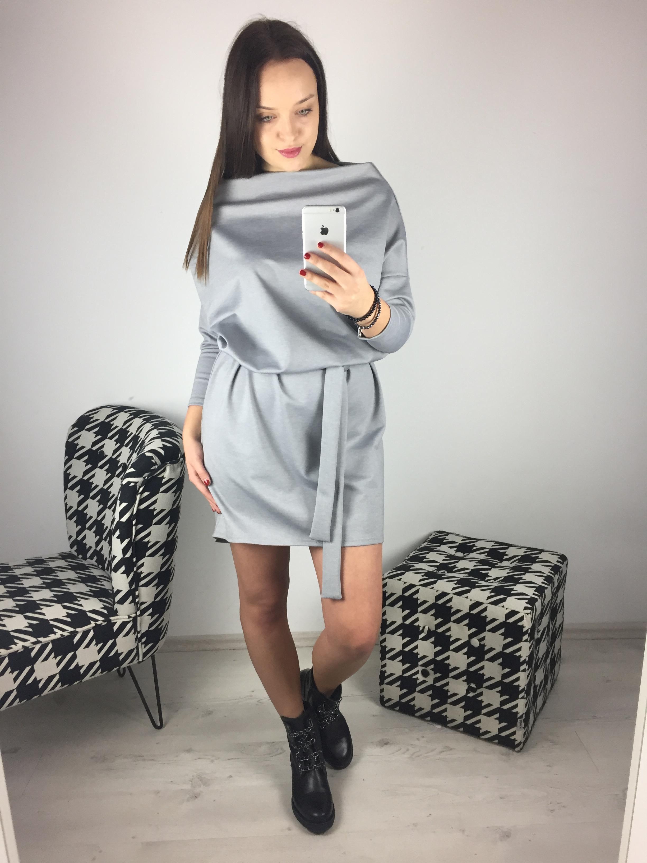 Eshopat Dámské šaty Isabella Grey Velikost oblečení: UNI