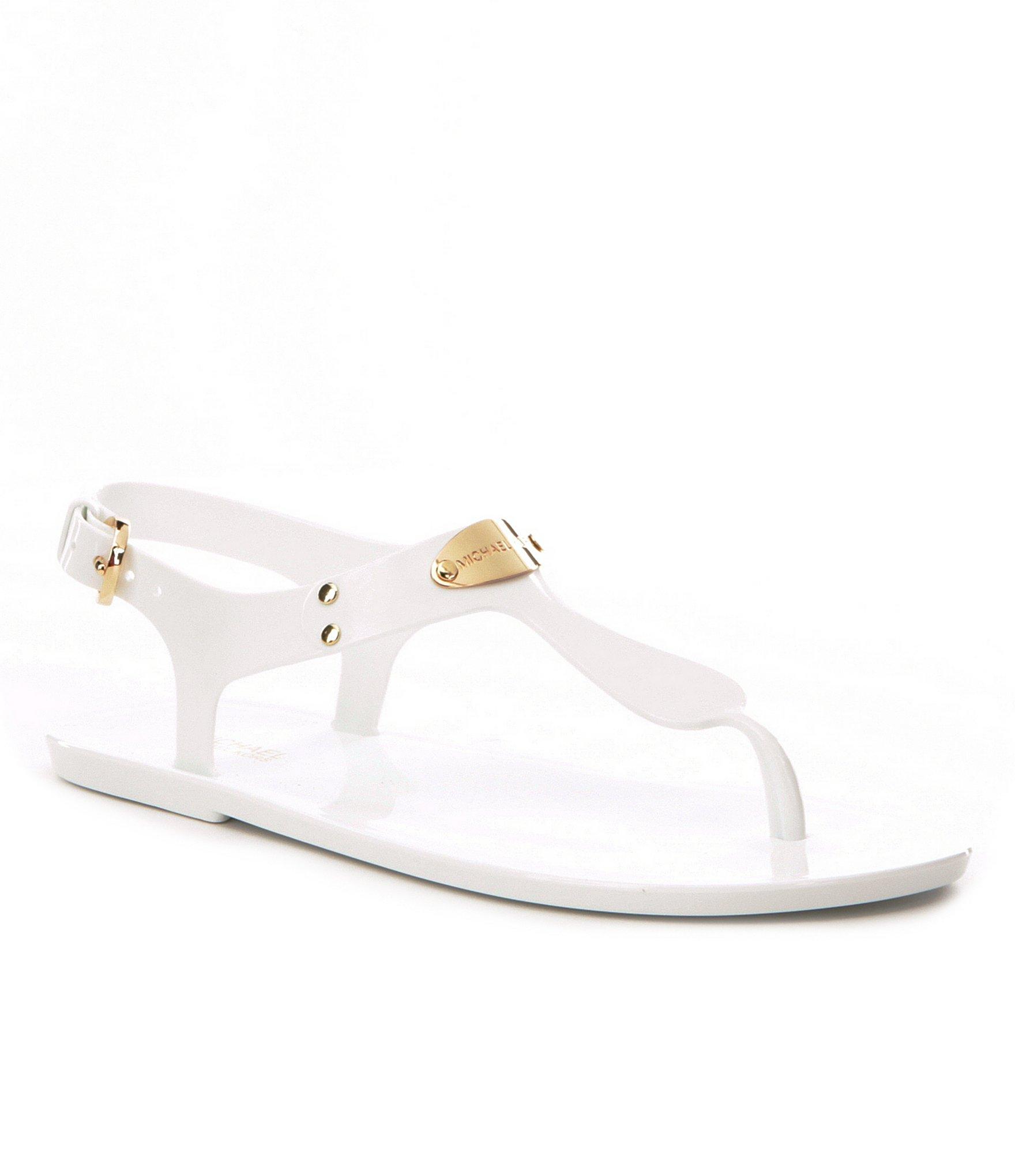 Sandálky Michael Kors MK Jelly Plate Optic White Velikost boty  36 4a9cf485289