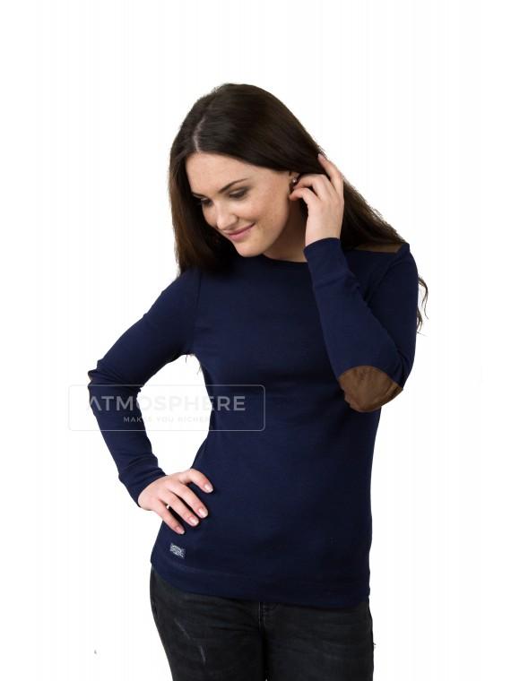Dámské tričko Ralph Lauren Kenna Navy Velikost oblečení: M