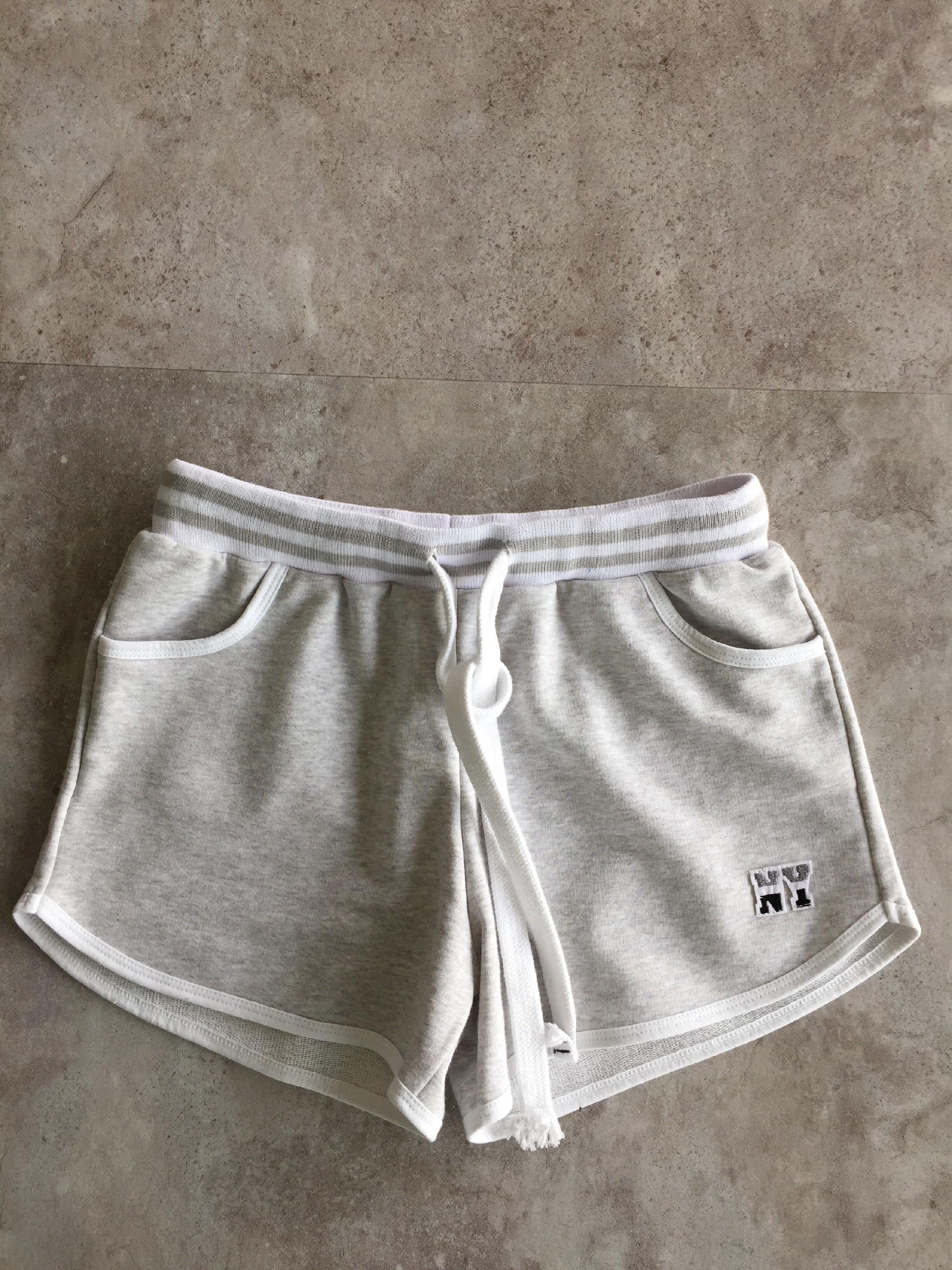 Eshopat Dámské kraťásky New York Grey Velikost oblečení: S