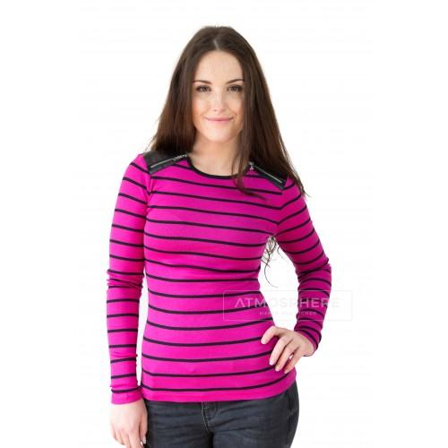 Dámské tričko Ralph Lauren Narkissa Stripe Pink Velikost oblečení: XS