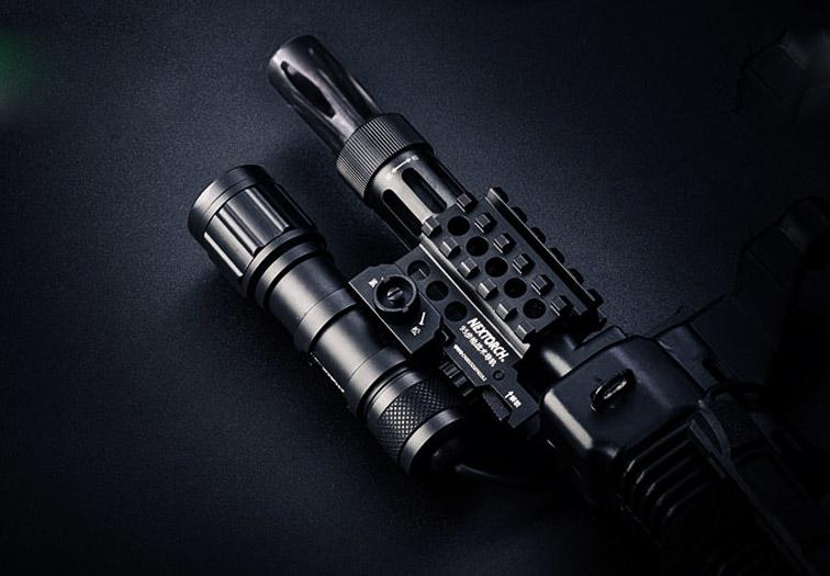 Svítilna pro dlouhou zbraň