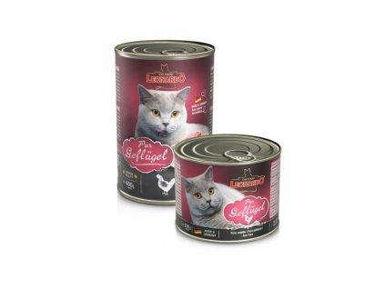 Masové konzervy pro kočky Leonardo