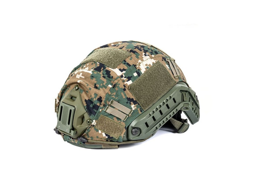 Potah na helmu FAST DIGITAL WOODLAND (MARPAT)