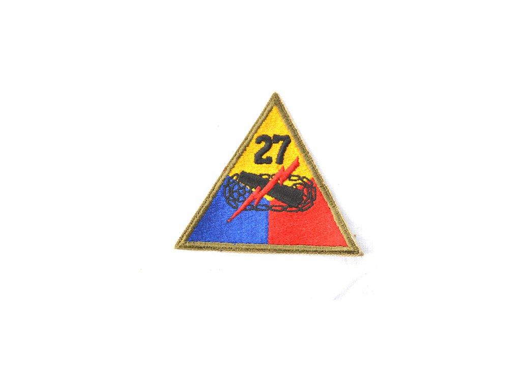 """Nášivka US """"27 ARMY DIV."""""""