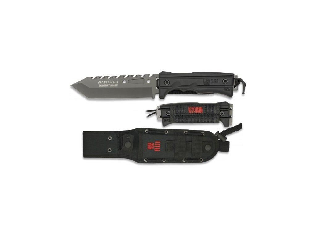 Nůž RUI Tactical 31999 WANTUCK pevná čepel