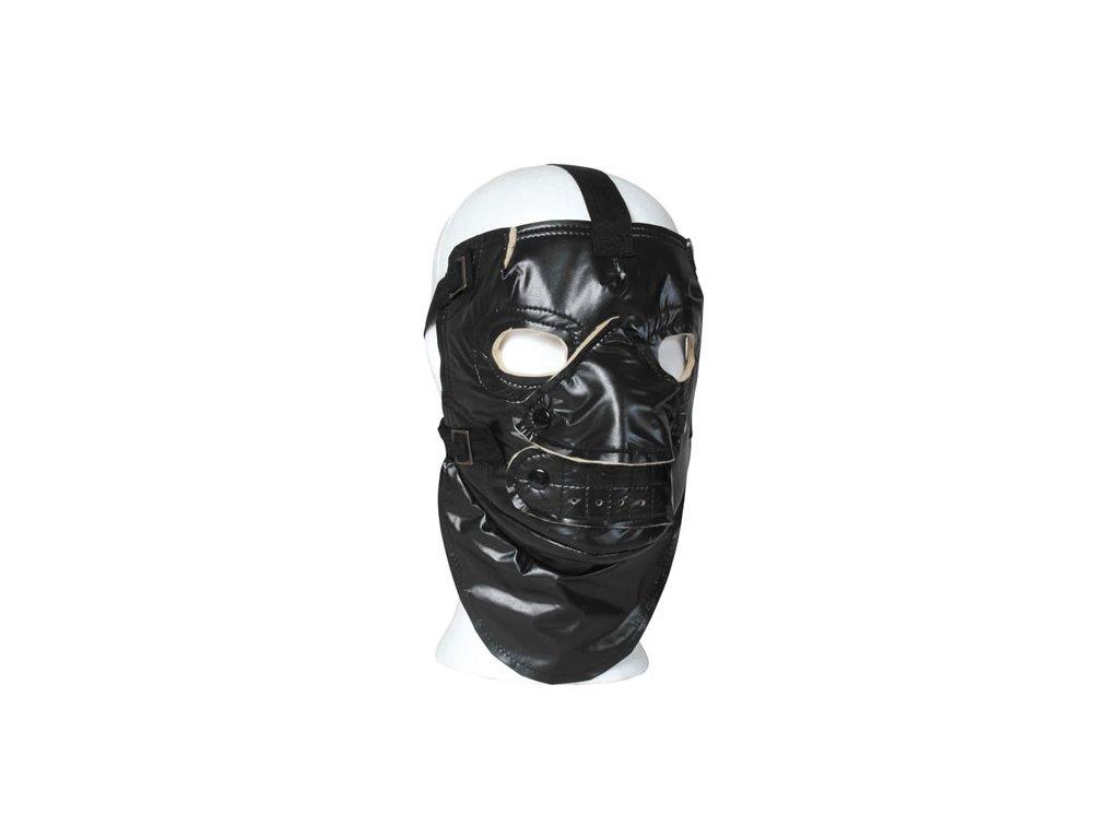 Maska obličejová US zateplená ČERNÁ