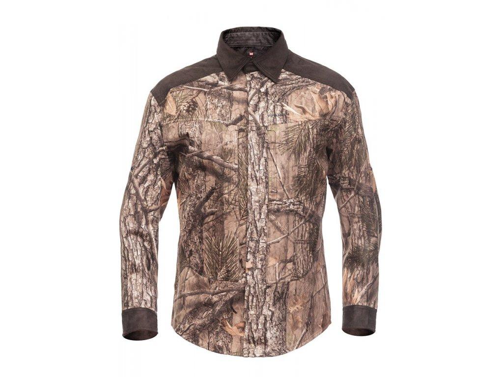 XPR Shirt Magnetic myslivecká košile b. 3DX Kamufláž