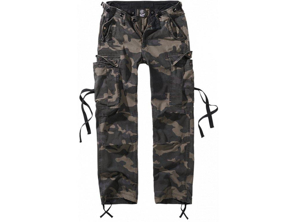 M65 dámské kalhoty Brandit tmavá kamufláž