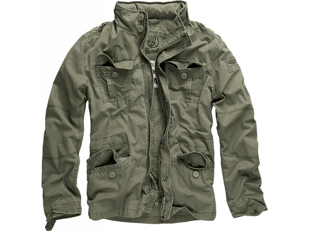 Bunda Brandit Britannia Jacket olivová