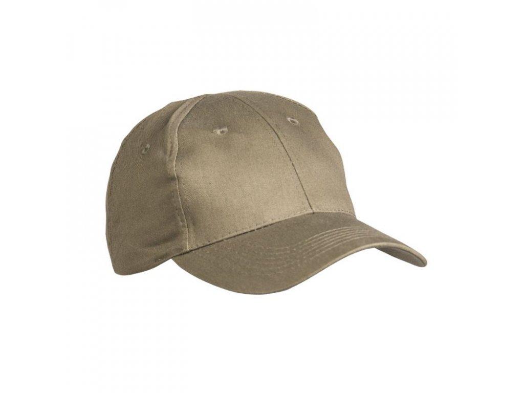 Čepice baseball s kšiltem ZELENÁ