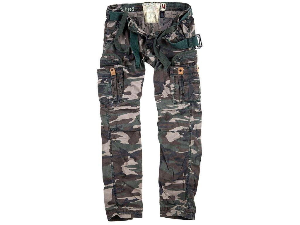 Kalhoty PREMIUM SLIMMY WOODLAND