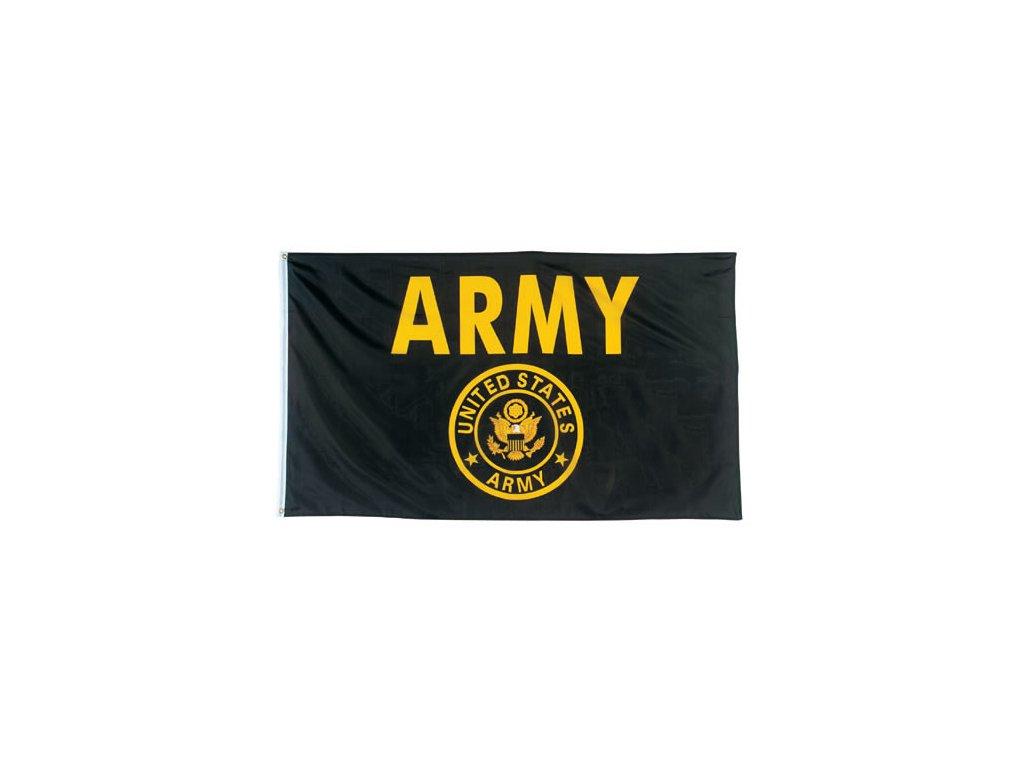 Vlajka ARMY ČERNÁ