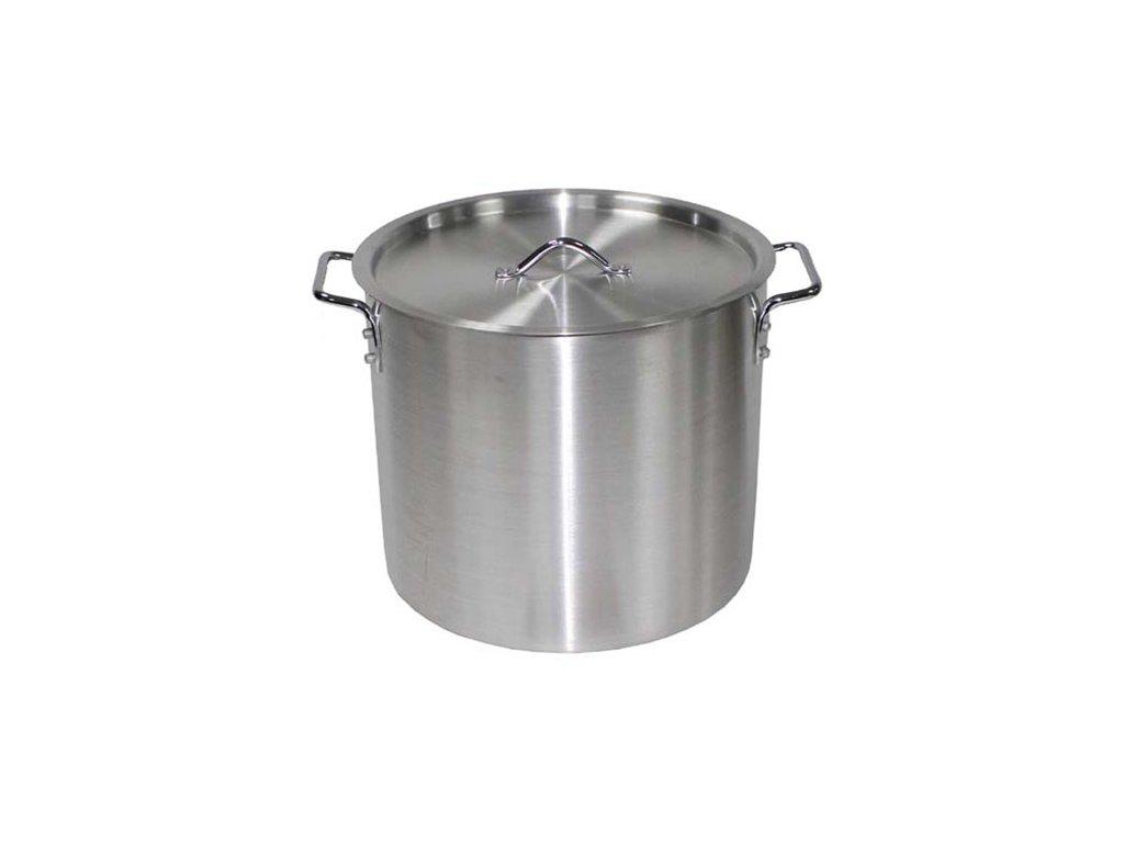 rnec hliníkový s poklicí 30 litrů / 36 x 31 cm