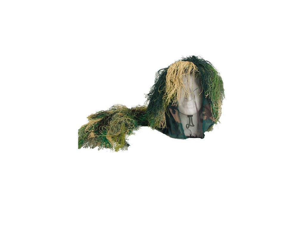 Klobouk maskovací s třásněmi CAMO