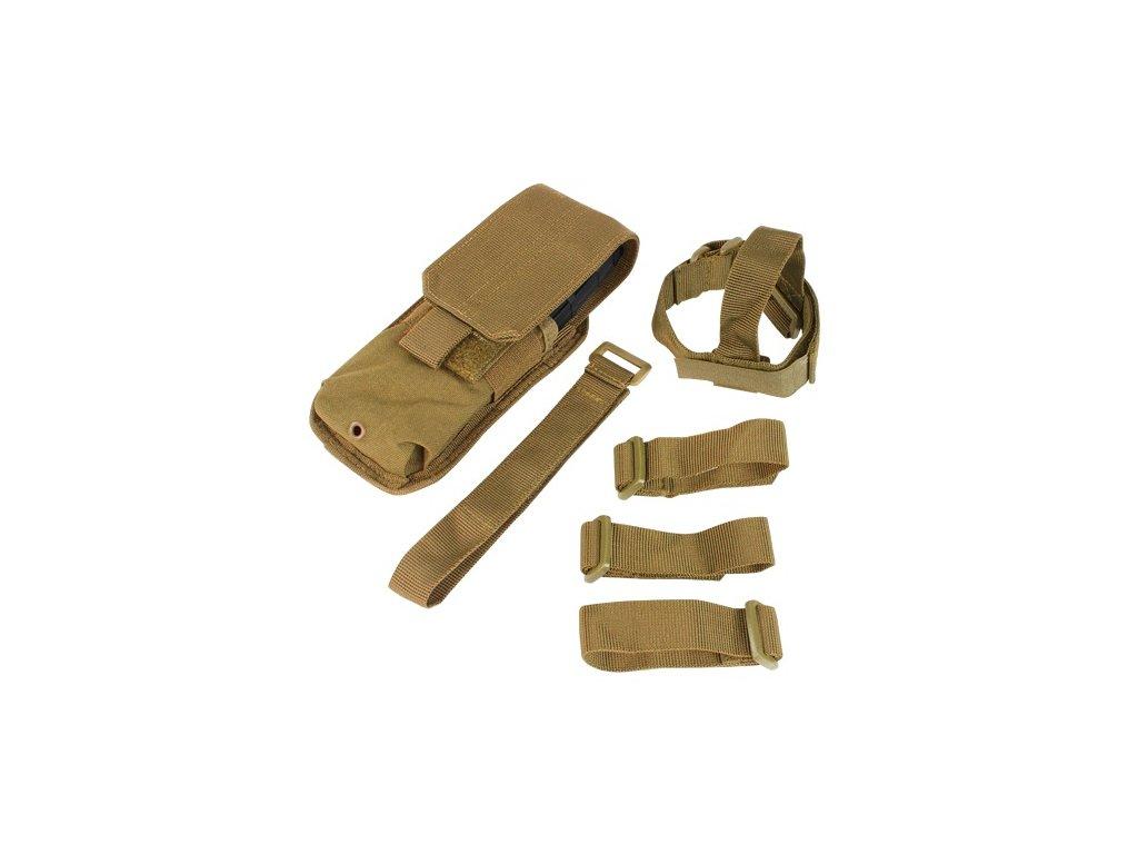 Sumka MOLLE na zásobník M16 k pažbě COYOTE BROWN