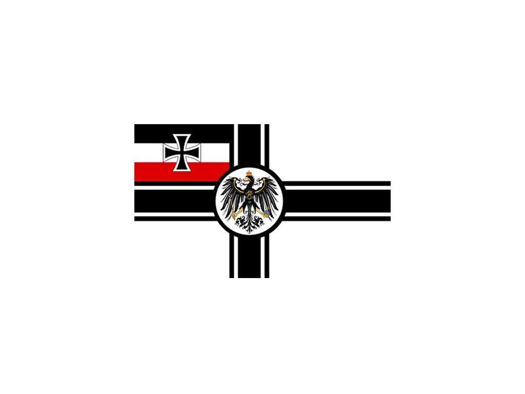 Vlajka ŘÍŠSKÉ NĚMECKO NÁMOŘNICTVO