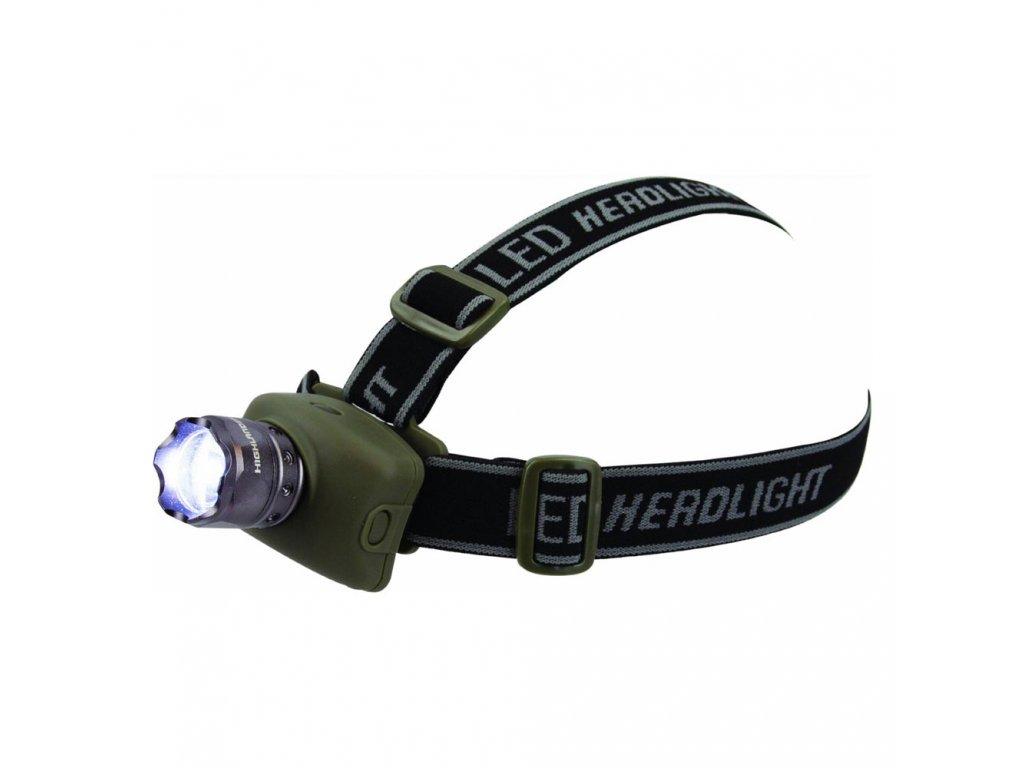 Svítilna čelová ZOOM 1W LED