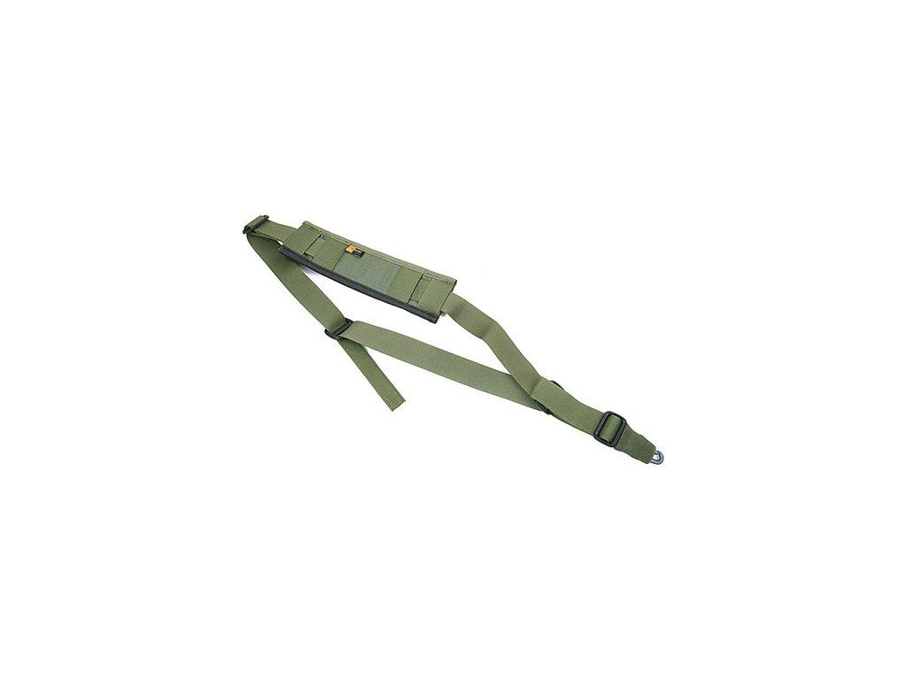 Popruh zbraňový CQB jednobodový OLIVE DRAB