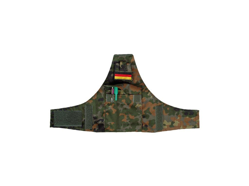 Pouzdro na rameno BW na tužky na suchý zip FLECKT.