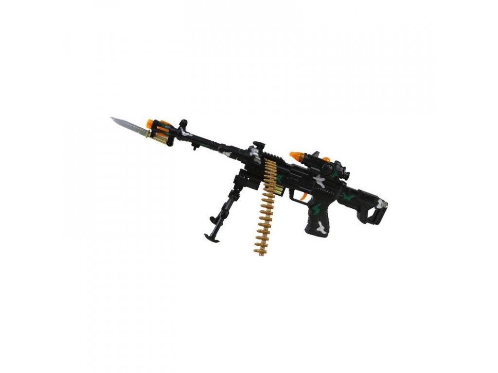 Hračka puška THUNDER FIRE plastová 59 cm
