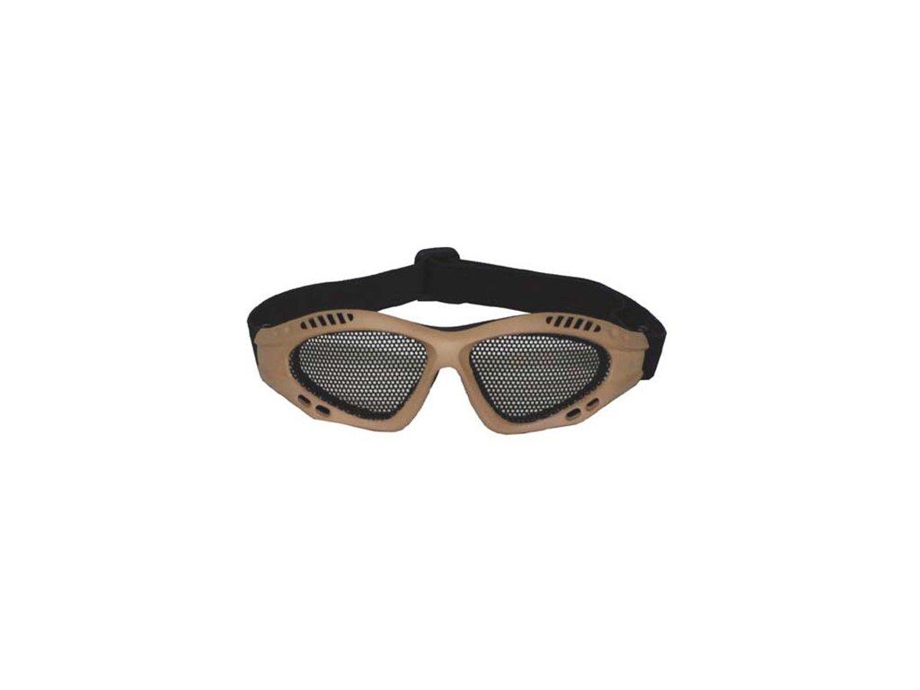 Brýle s kovovou mřížkou COYOTE