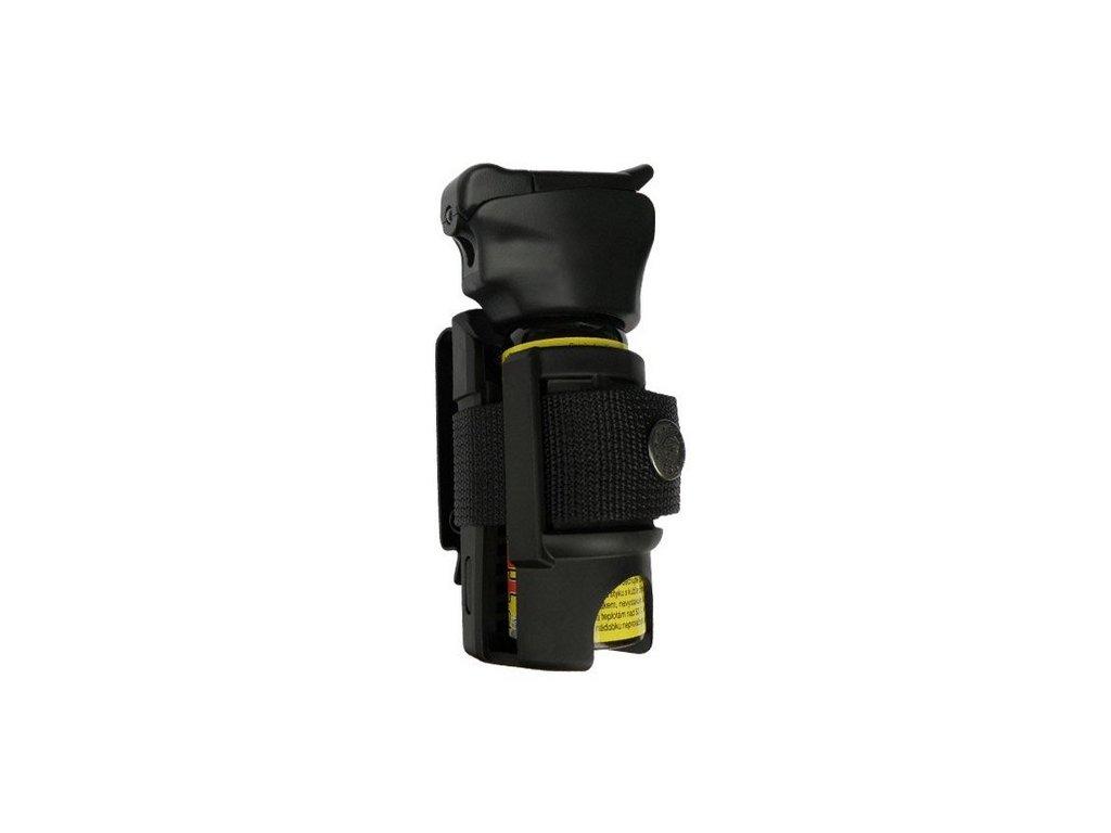 Pouzdro pro obranný sprej s nádobkou 35 mm a kovovým klipem