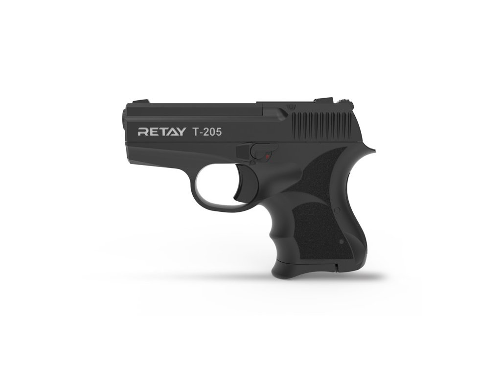 Plynová pistole Retay T205 8 mm P.A.K. - černá