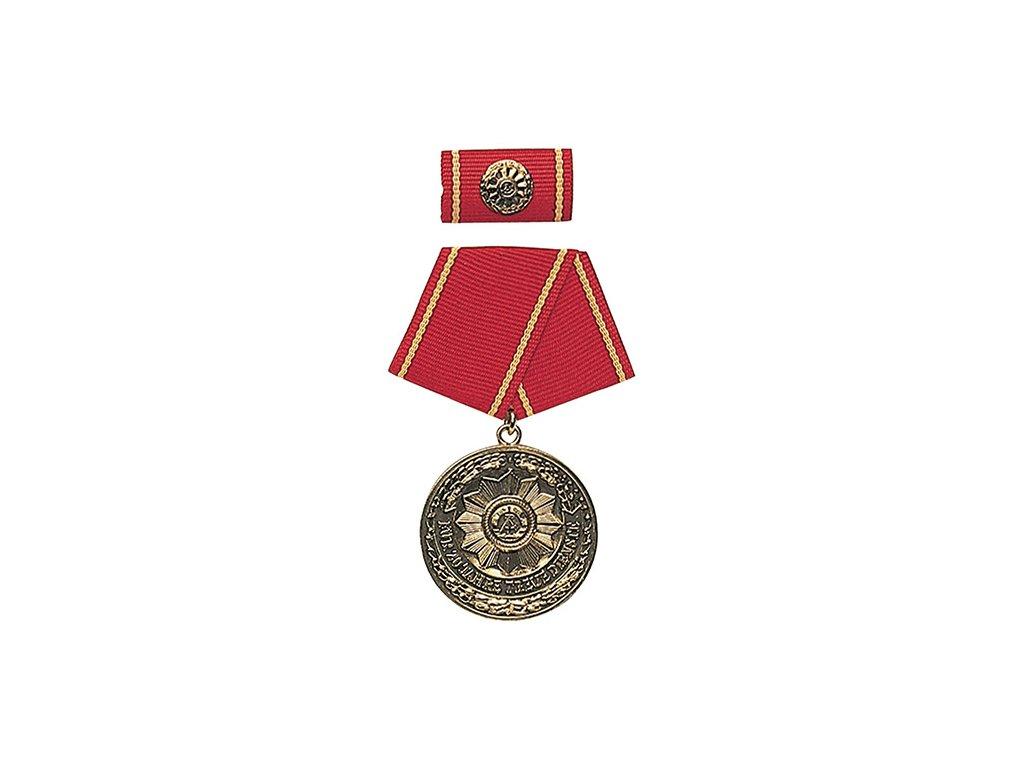 Medaile vyznamenání MDI 'F.TREUE DIENSTE' 20let ZLATÁ