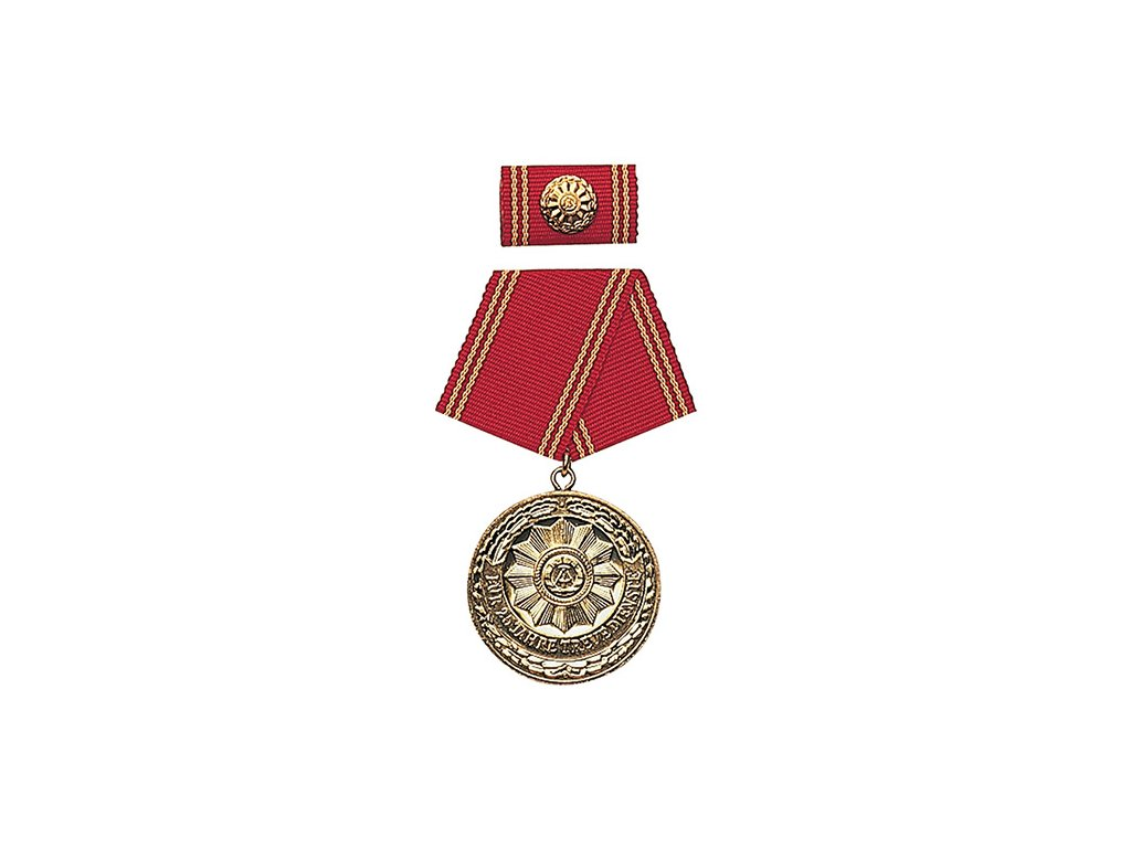 Medaile vyznamenání MDI 'F.TREUE DIENSTE' 25let ZLATÁ