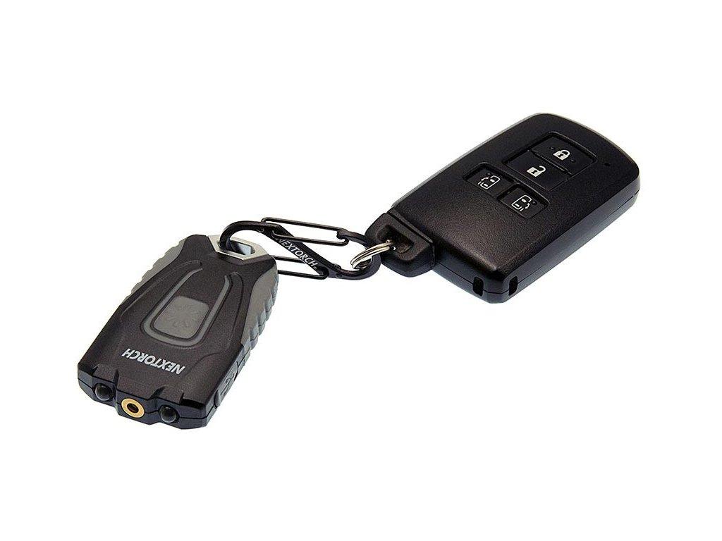Mini nabíjecí LED svítilna na klíče GL20