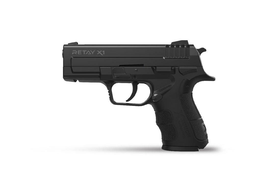 Plynová pistole Retay X1 9 mm P.A.K. - černá