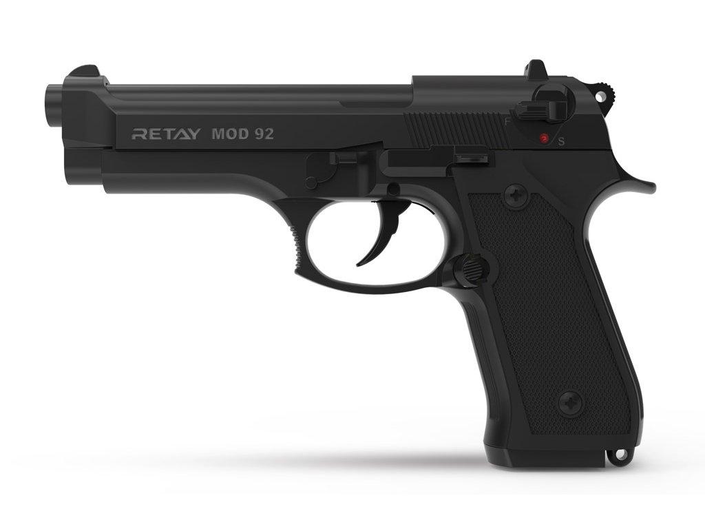 Plynová pistole Retay MOD 92 9 mm P.A.K. - černá