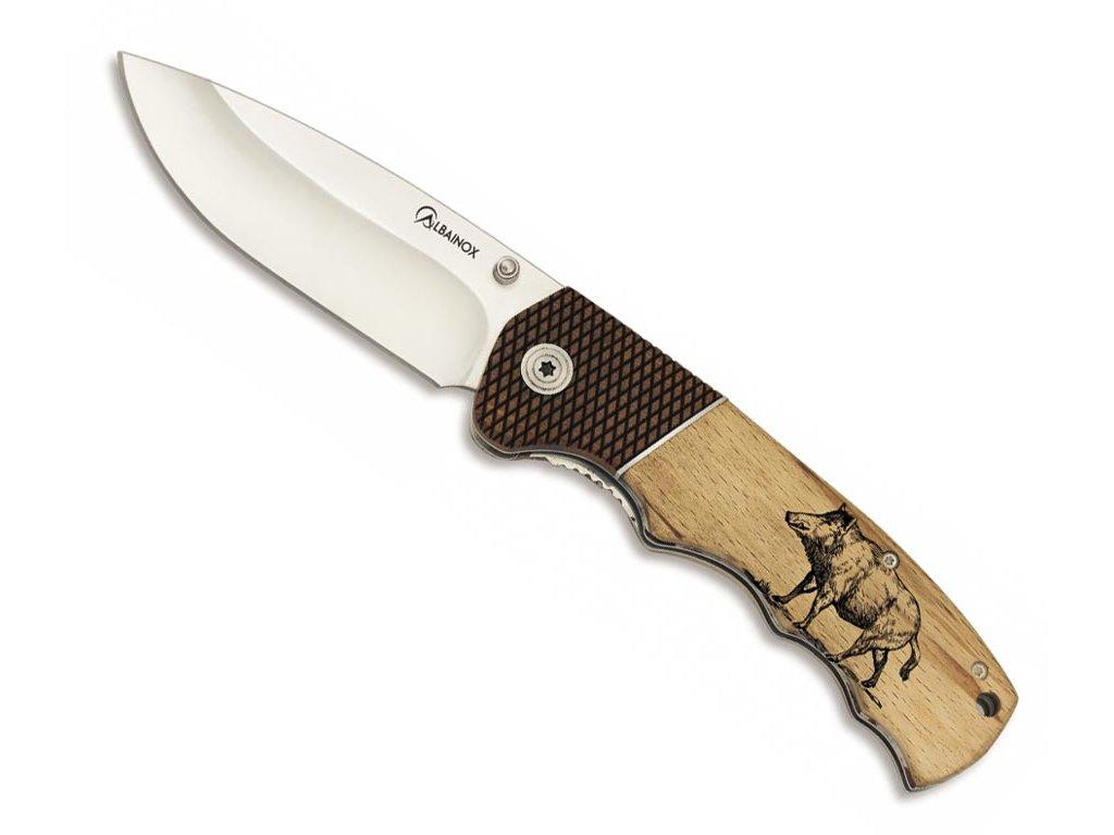 Lovecký nůž Albainox s divočákem