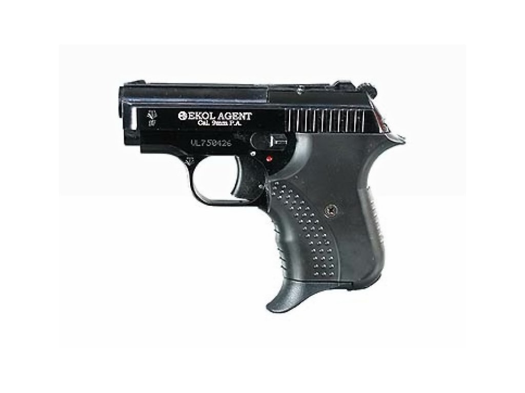 Plynová pistole Ekol Agent cal. 9 mm P.A.K. - černá