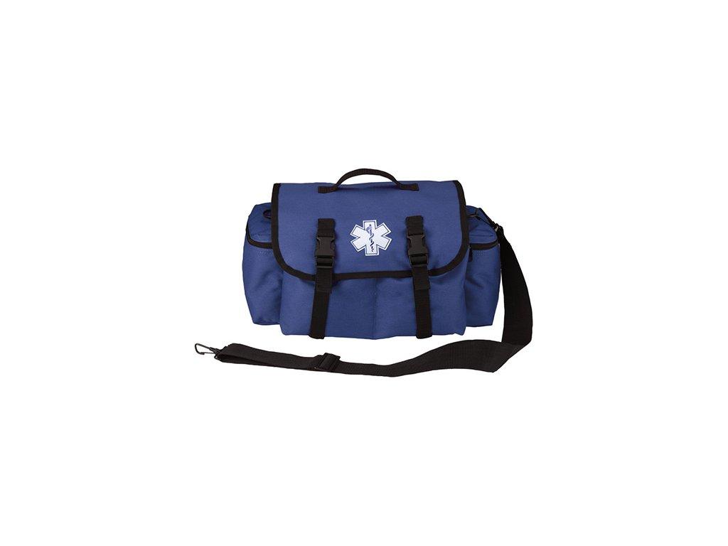 Taška lékařská pro záchranáře EMS přes rameno MODRÁ