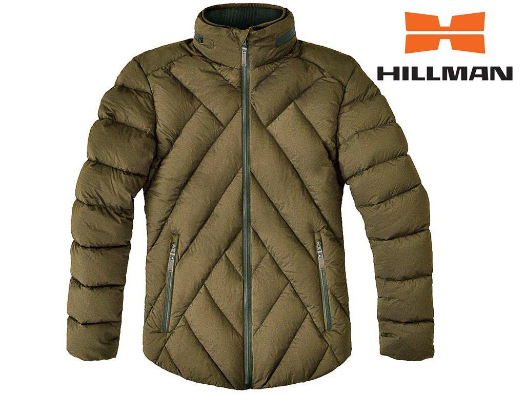 Down Jacket zimní bunda b. Dub