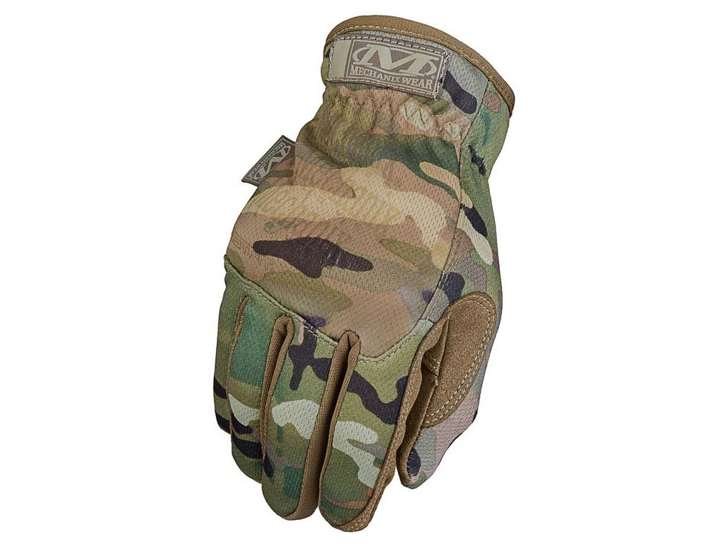 Mechanix Fastfit taktické rukavice b. Kamufláž