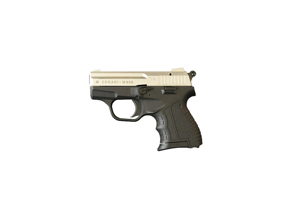 Plynová pistole Atak Zoraki 906 cal. 9 mm P.A.K. - satén
