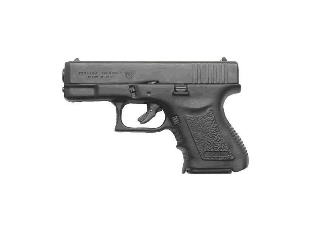 Plynová pistole Bruni MiniGAP cal. 9 mm P.A.