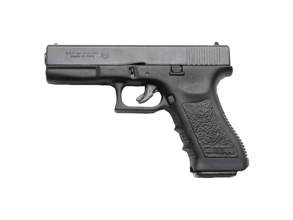 Plynová pistole Bruni GAP cal. 9 mm - černá