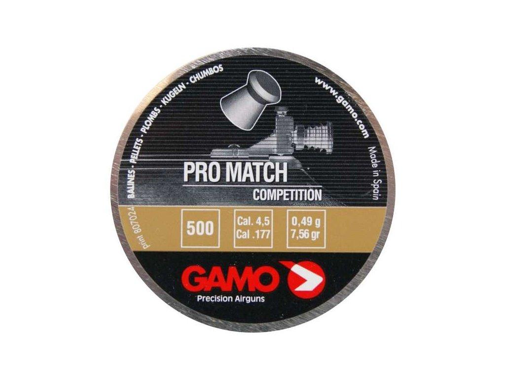 Diabolo Gamo Pro Match 4,5 mm 500 ks