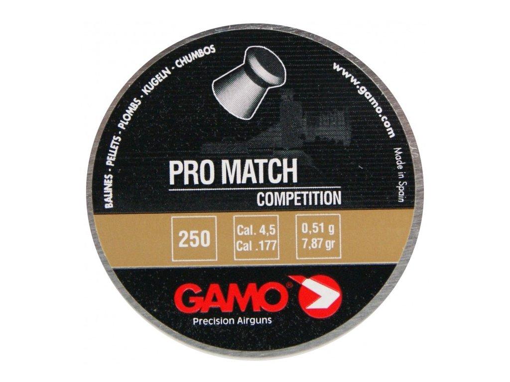 Diabolo Gamo Pro Match 4,5 mm 250 ks
