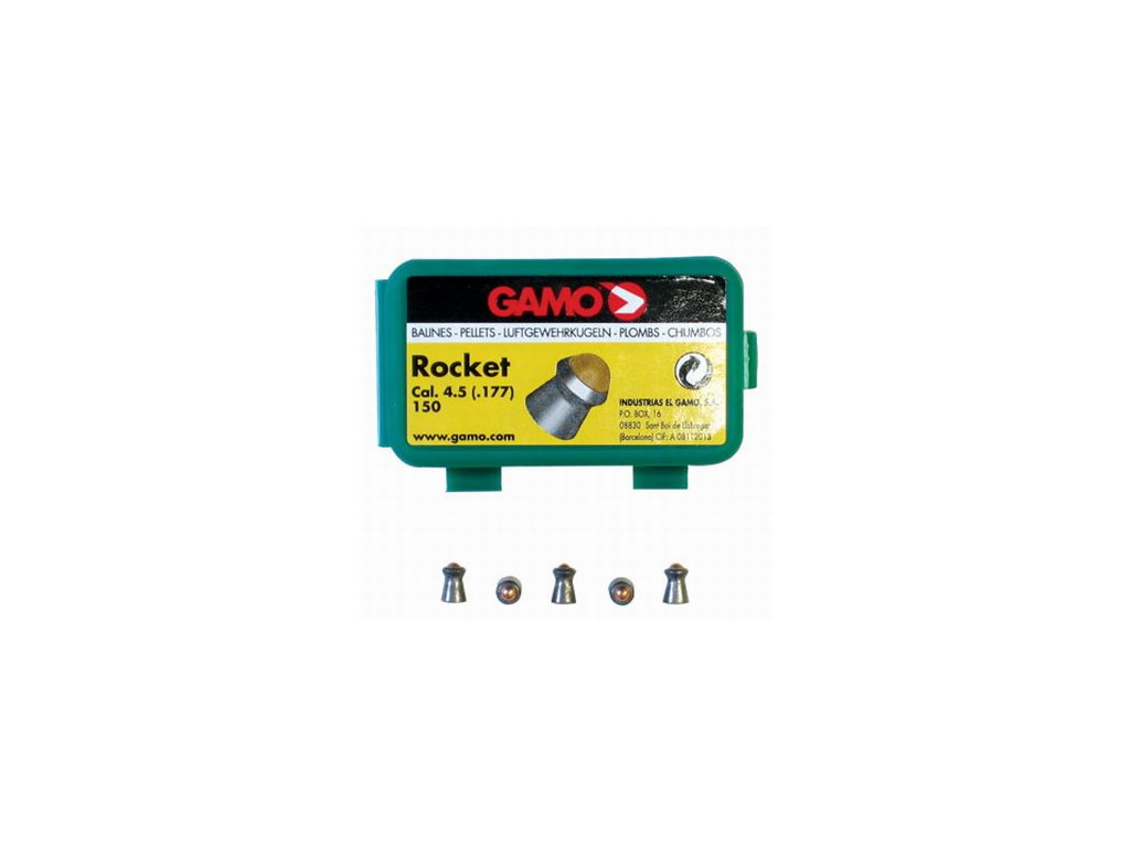 Diabolo Gamo Rocket 4,5 mm 150 ks