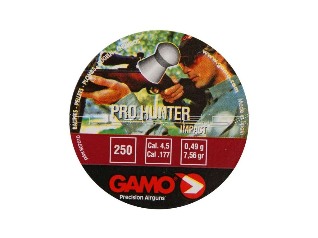 Diabolo Gamo Pro Hunter 4,5 mm 250 ks