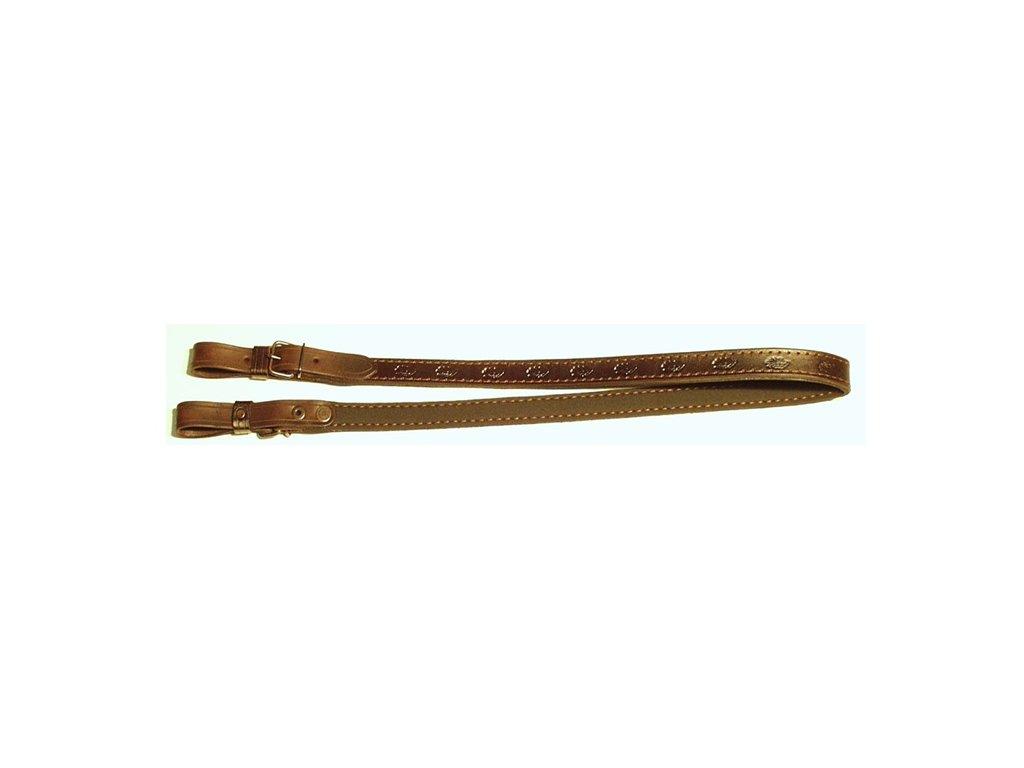 Řemen na zbraň podšitý protiskluzovou gumou - 2 cm